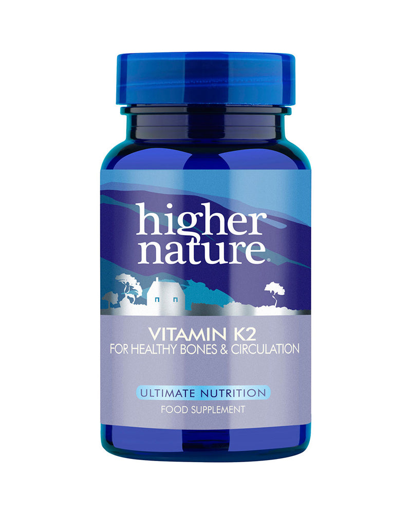 Higher Nature Vitamin K2, 60Tabs