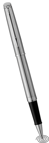 Waterman Hemisphere roller ball pen - silver CT