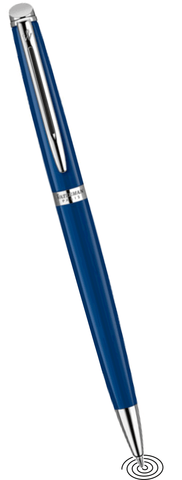 Waterman Hémisphère ballpoint pen - Lacquered Blue