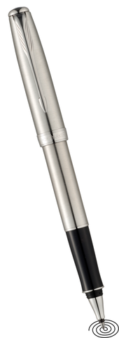 Parker Sonnet - roller ball pen - stainless steel