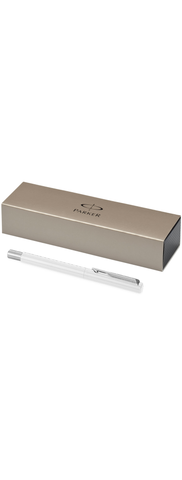 Parker Vector roller ball pen - white barrel