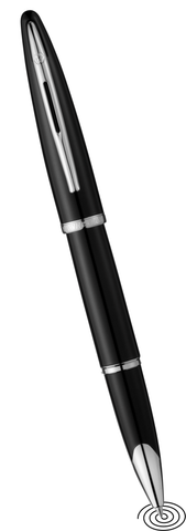 Waterman Carene roller ball pen black