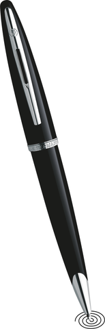 Waterman Carene ball point pen black