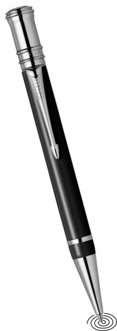 Parker Duofold Premium ball point pen CT - black