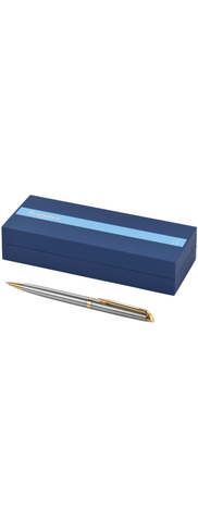 Waterman Hemisphere ball point pen - Silver with Gold Finish Trim