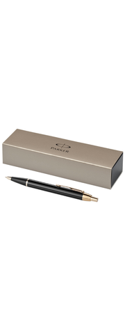 Parker IM ball point pen black GT trim