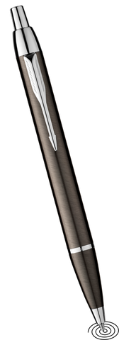 Parker IM ball point pen gun metal
