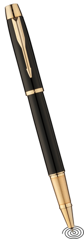 Parker IM roller ball pen - black GT