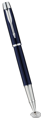 Parker IM roller ball pen - blue