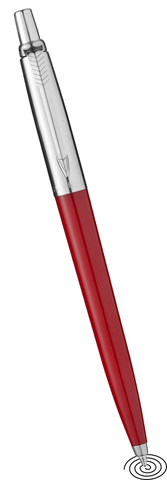Parker Jotter ball point pen - red barrel