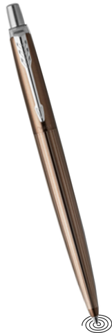 Parker Jotter Premium ballpoint pen - Stainless Steel, Downtown Brown CT - NEW