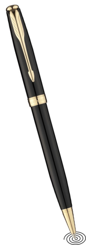 Parker Sonnet - ball point pen GT - Black