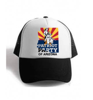 Patriot Couple Trucker Hat