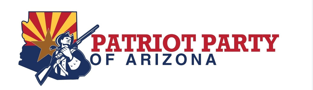 AZ Patriot Party Bumper Sticker