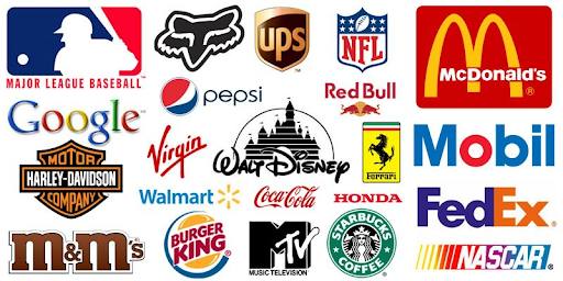 Logos! There's a lot of them.