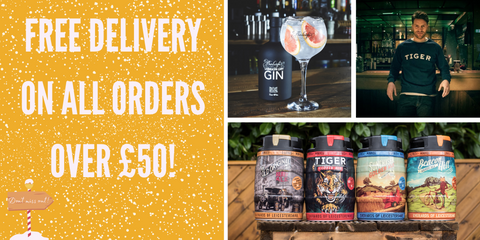 Free delivery on all ordersover £50 from Everards