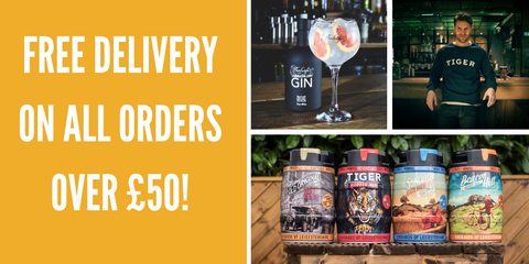 Free delivery on all beer and drinks from Everards of Leicestershire when spending over fifty pounds