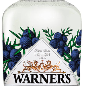 Warners Juniper Double Dry Gin is 0% ABV Low and No Alcohol available to buy from Everards