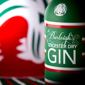 Bottle of Burleigh's Leicester Tiger Gin