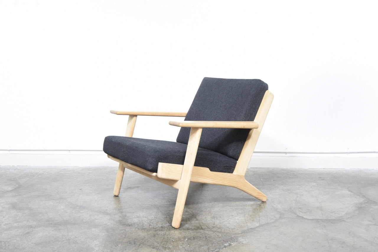 GE-290 plank chair by Hans J. Wegner
