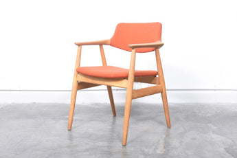 Oak desk chair by Erik Kirkegaard