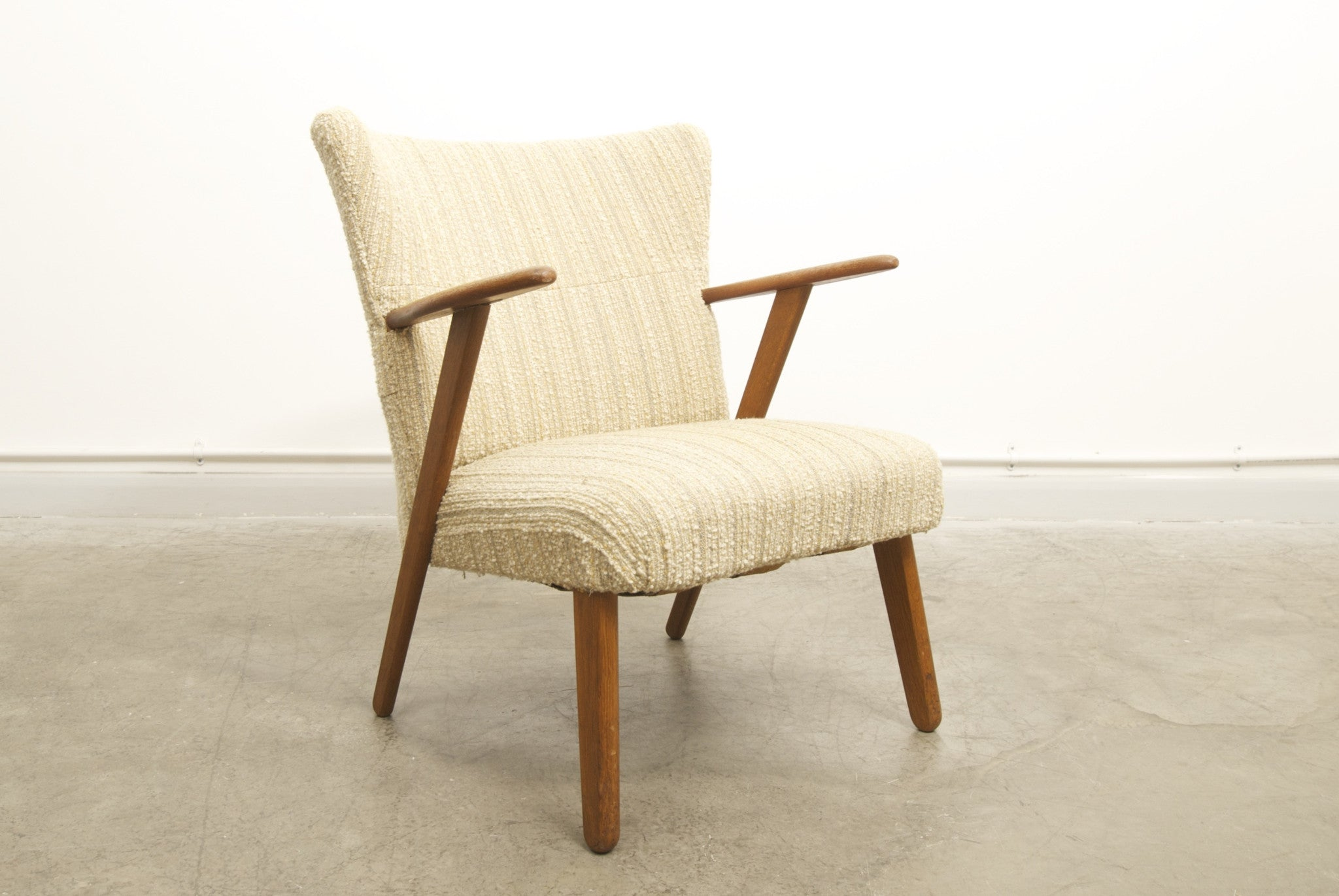 Teak occasional chair no. 2