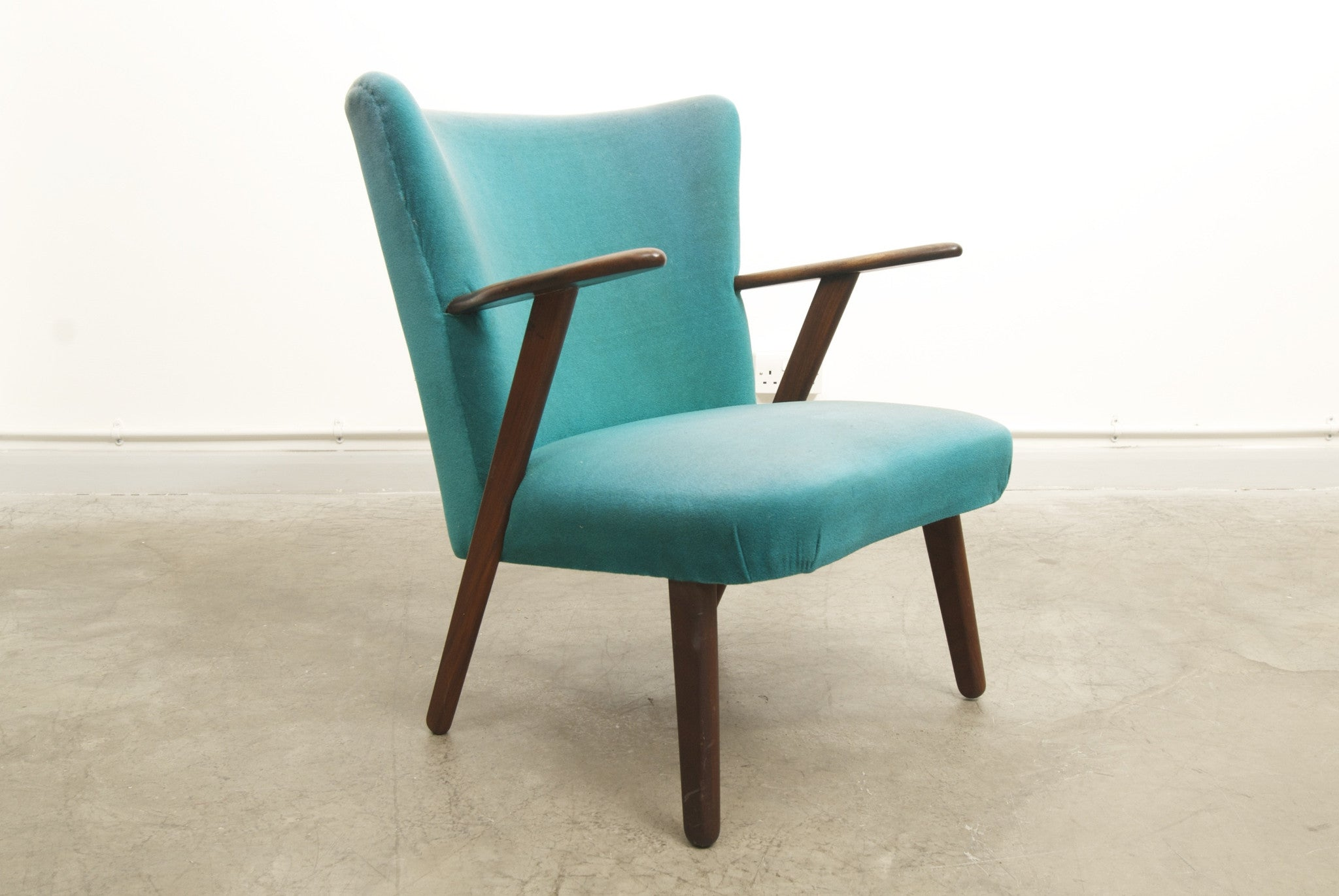 Teak occasional chair no. 1