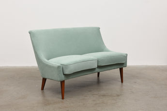 1950s Swedish sofa in velvet