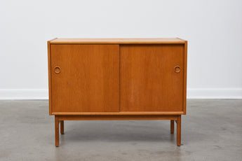 1960s short sideboard in oak