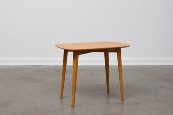 1960s elm side table by Nordiska Kompaniet