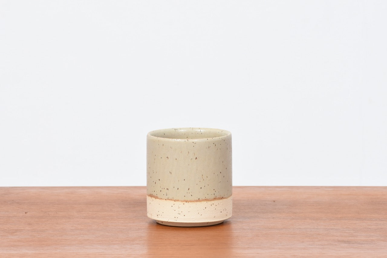 Stoneware ceramic cup by Low Key - Natural