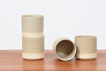 Stoneware ceramic mug by Low Key - Natural