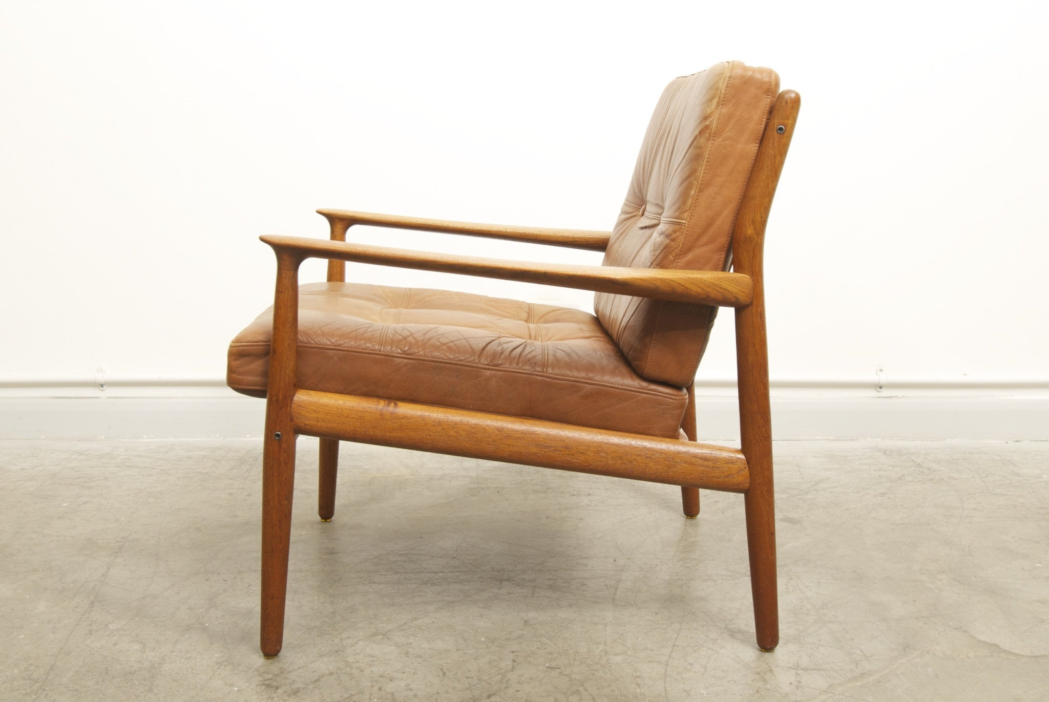 Teak lounger by Grete Jalk
