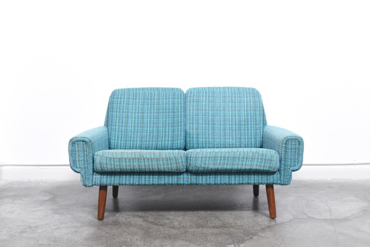 1960s turquoise two seater