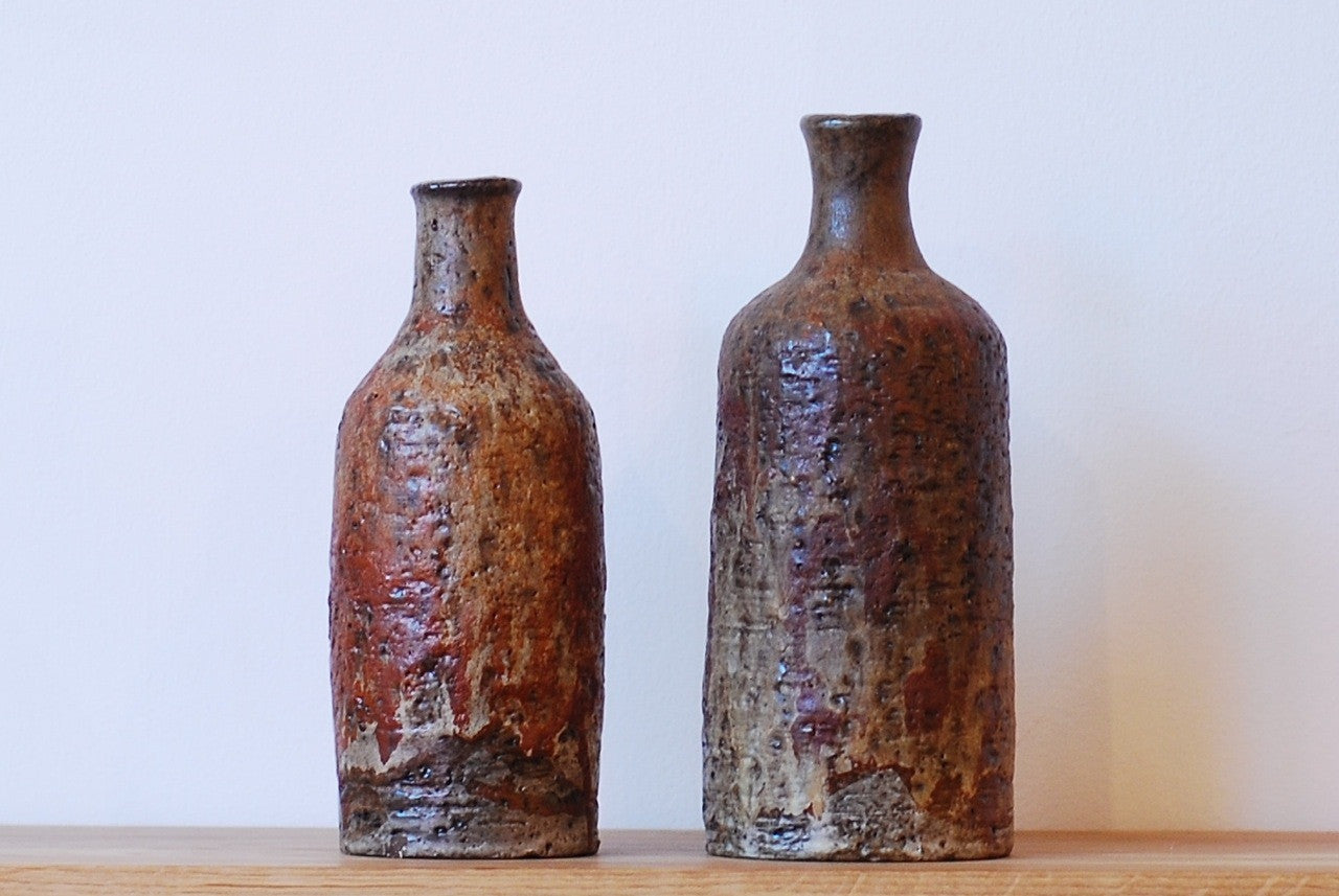 Pair of stoneware vases