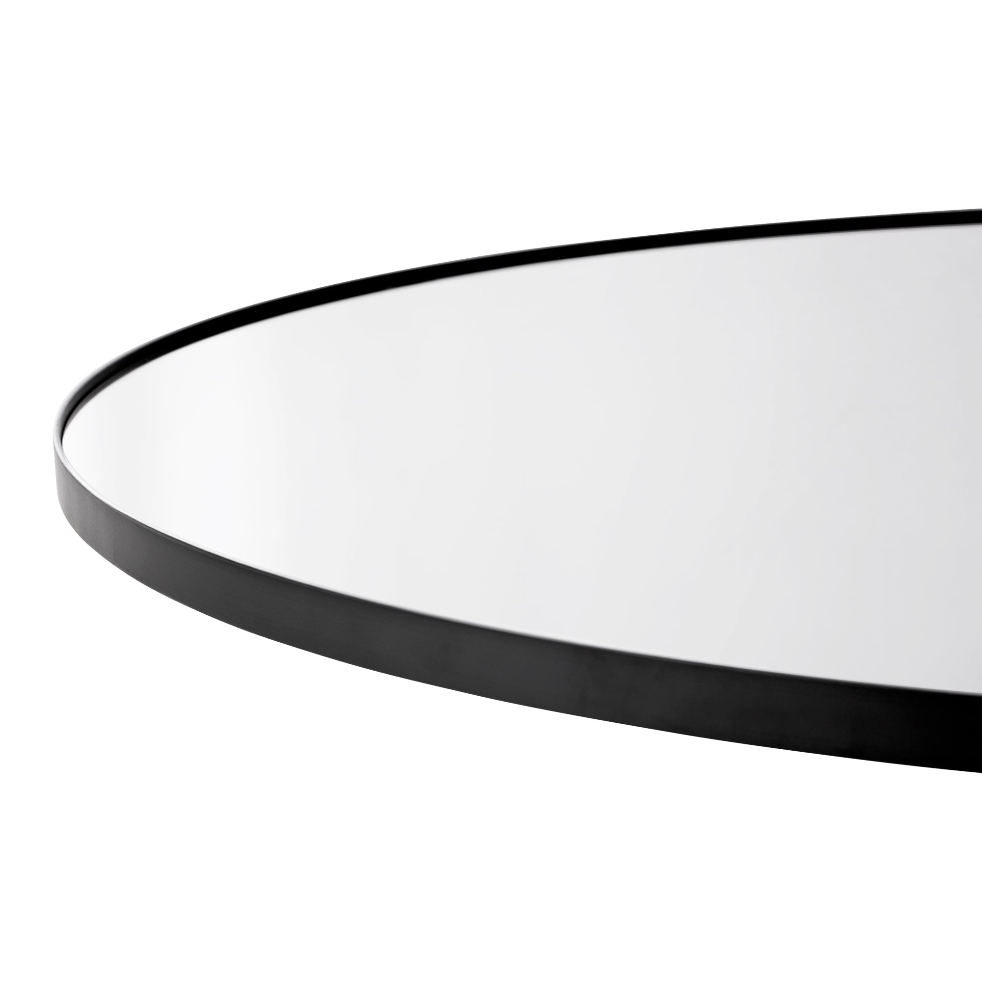 Circum mirror (Clear finish/90 cm) by AYTM