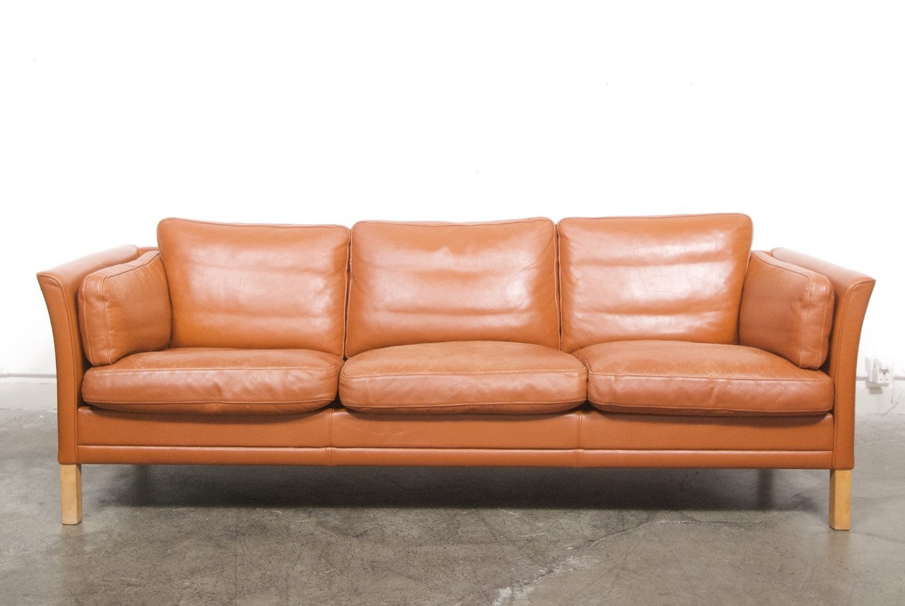 Brilliant Leather Sofa By Mogens Hansen Pdpeps Interior Chair Design Pdpepsorg