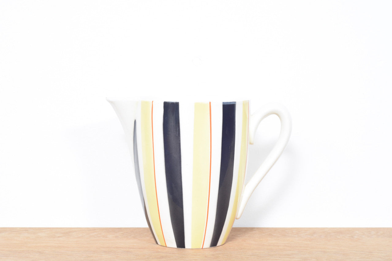 1950s ceramic pitcher