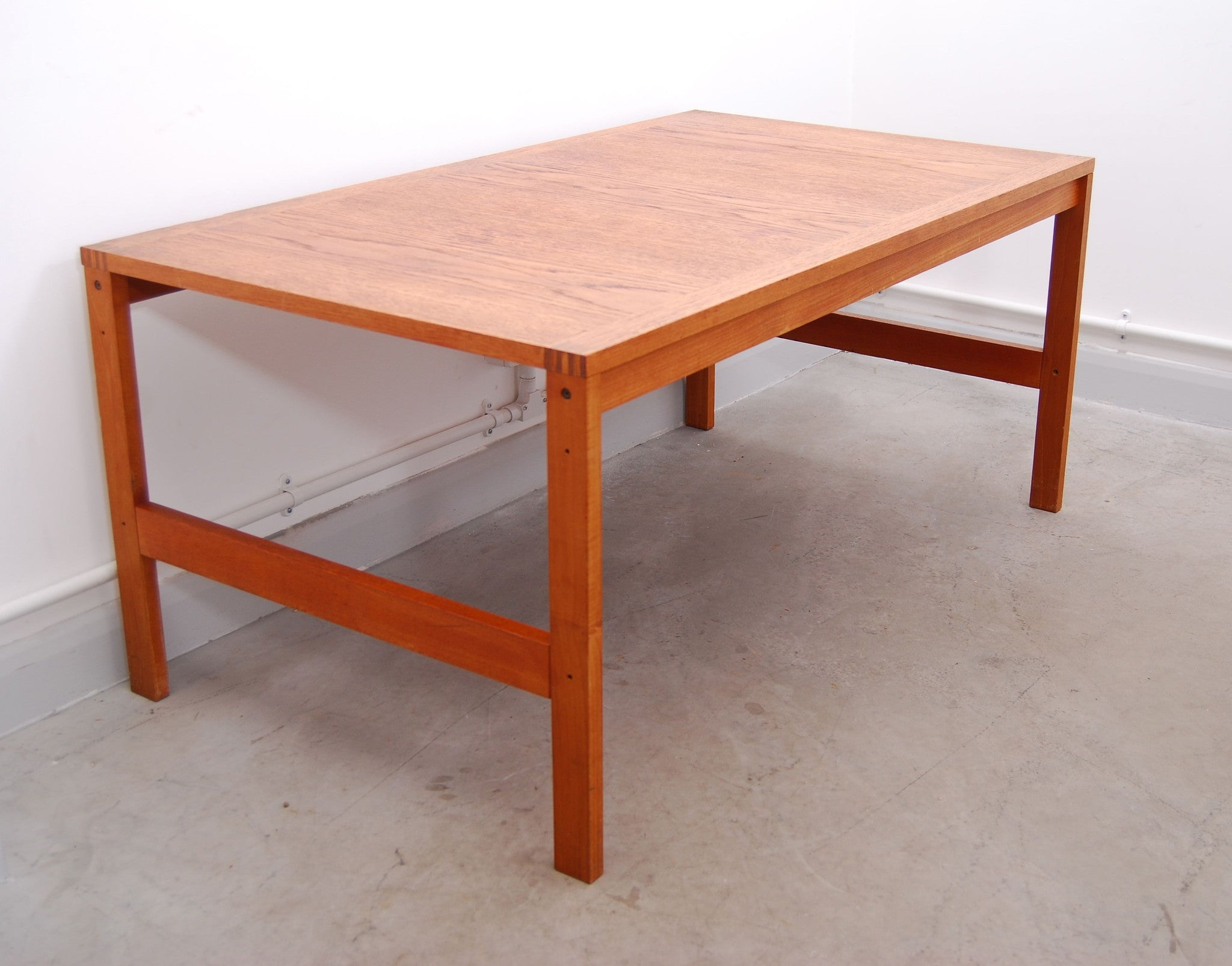 Teak coffee table produced by Cado