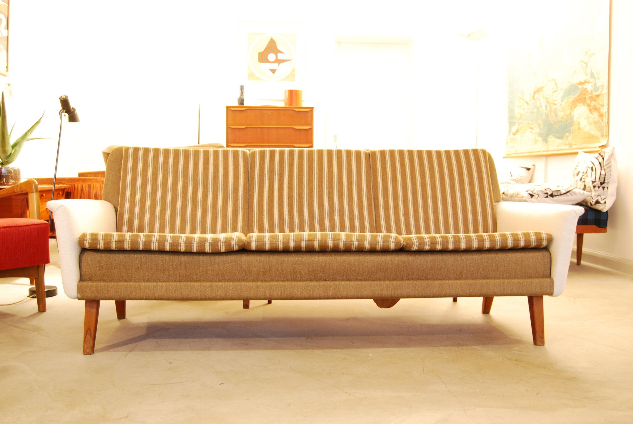 Three seat sofa by Folke Olsson