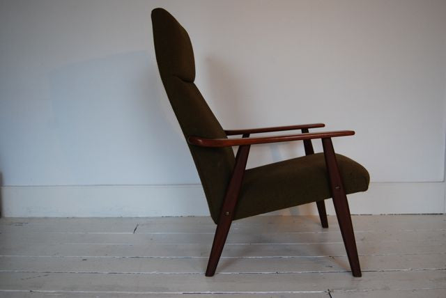 Chase & Sorensen Lounge chair in forest wool