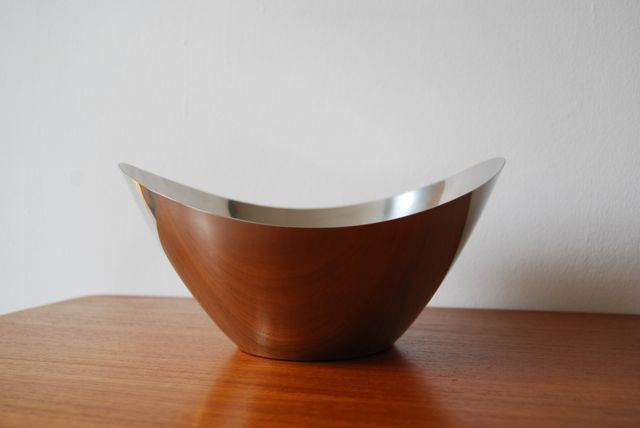 Chase & Sorensen Chrome bowl by Stelton