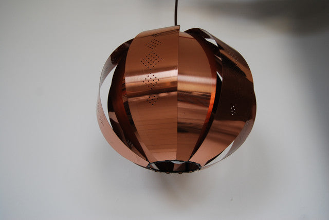 Chase & Sorensen Ceiling lamp in copper