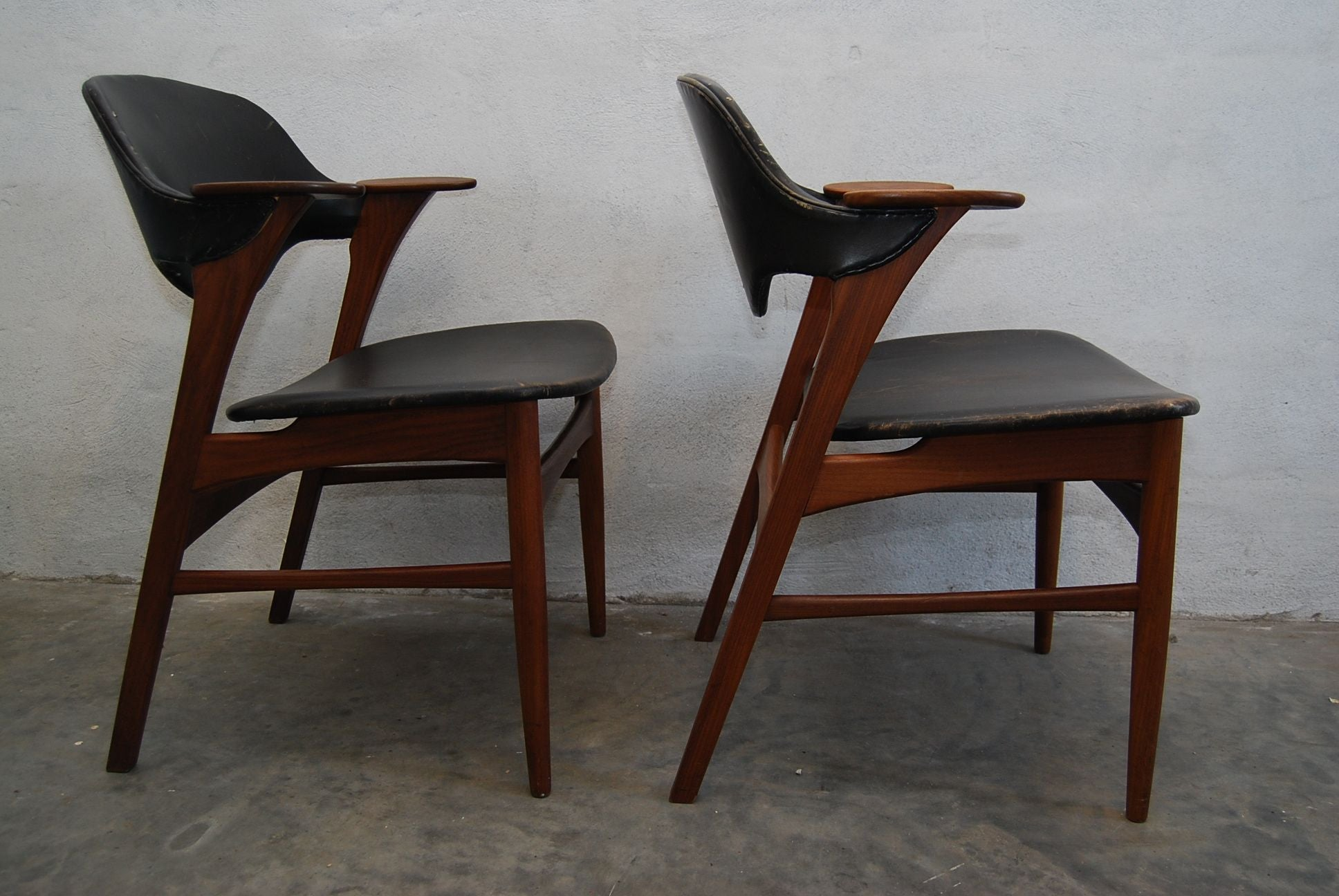 Set of Two Armchairs by Arne Vodder