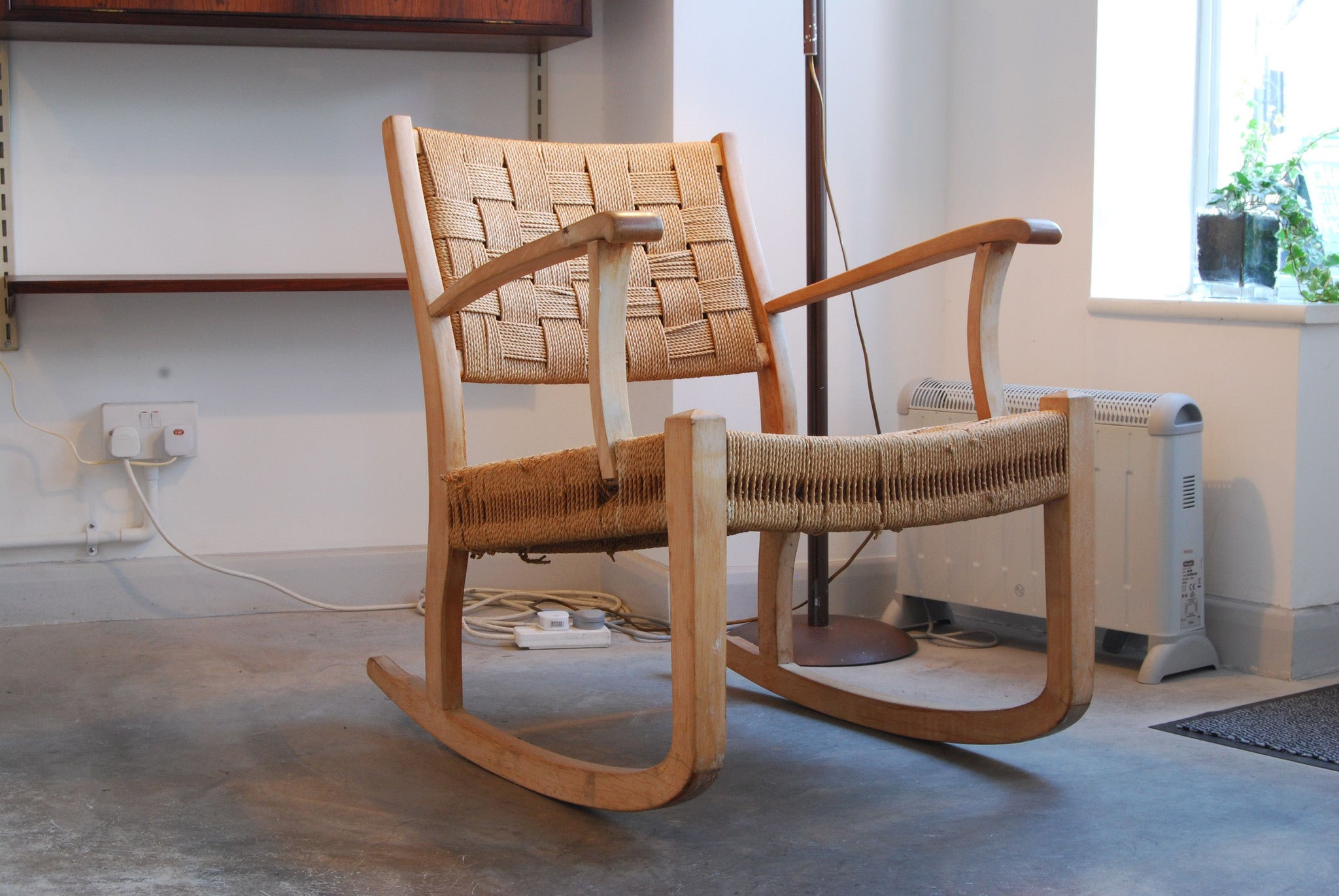 Lowback rocking chair