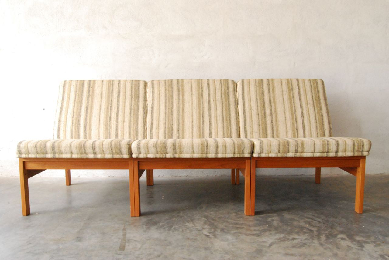 Three seat modular sofa by Gjerlíëí_v-Knudsen