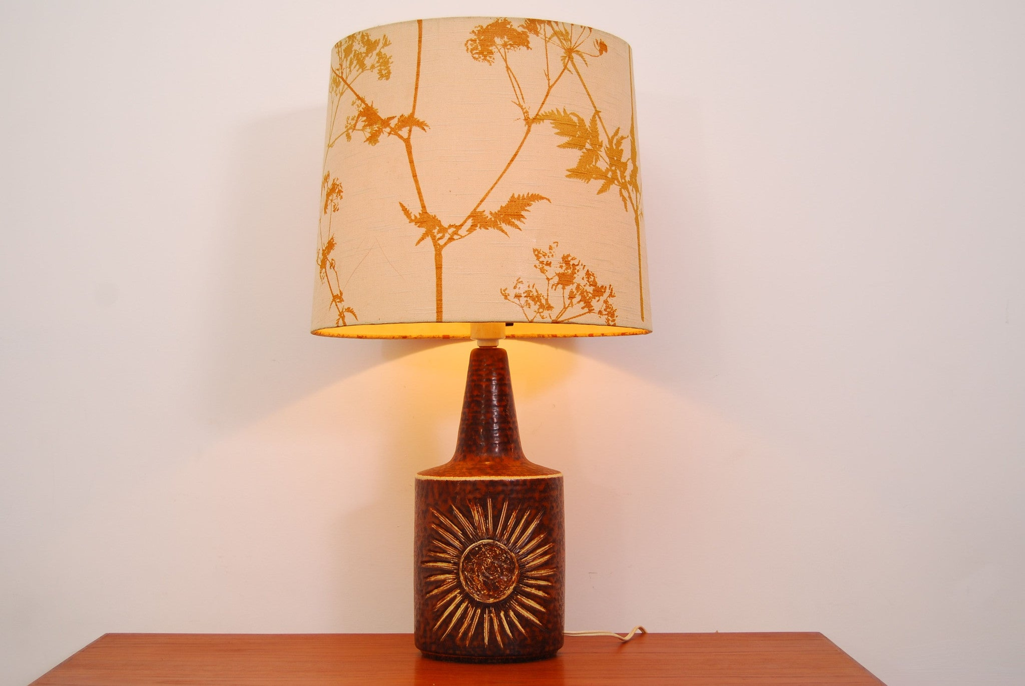 Ceramic table lamp by Bornholm