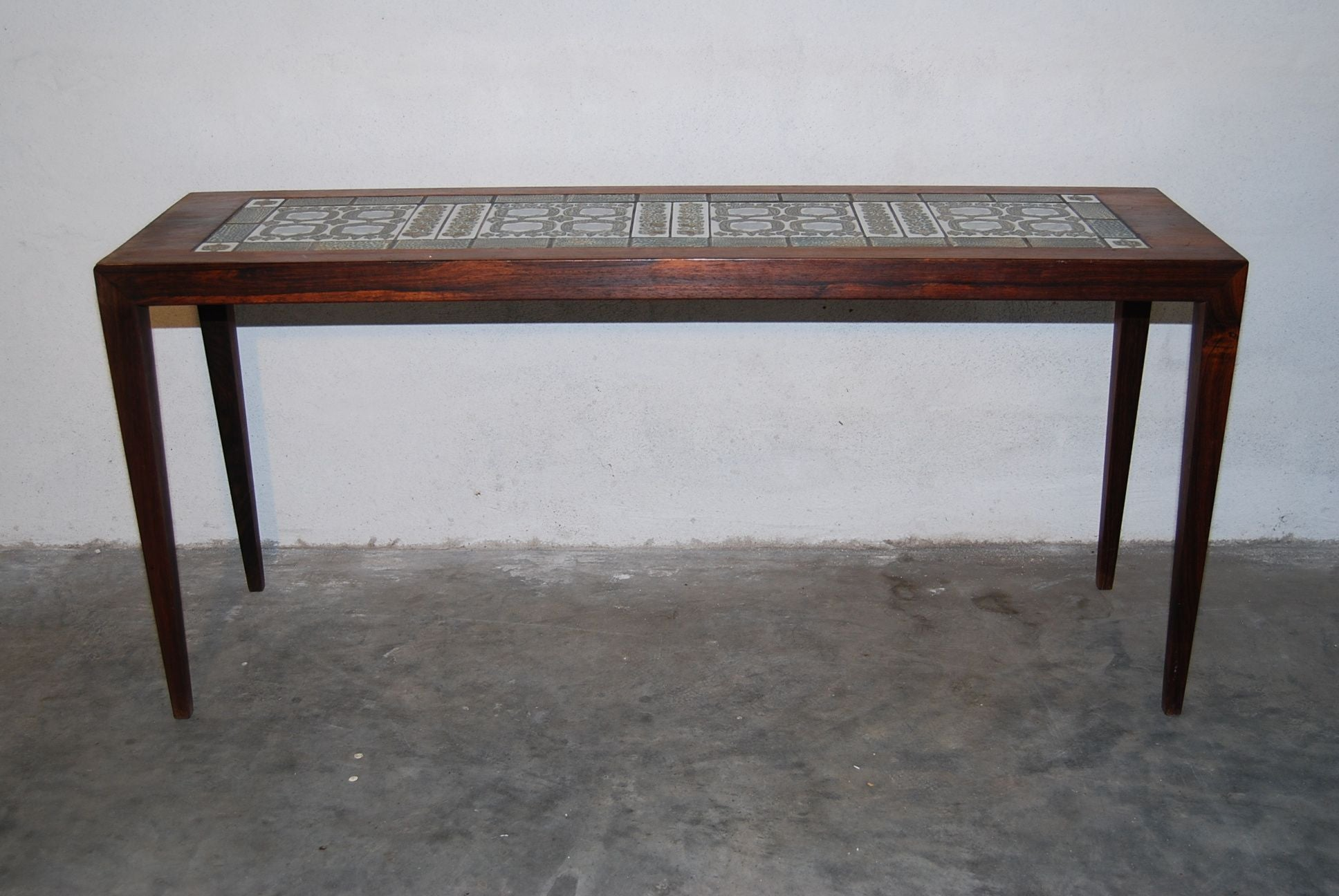 Occasional Table with Ceramic Inlay