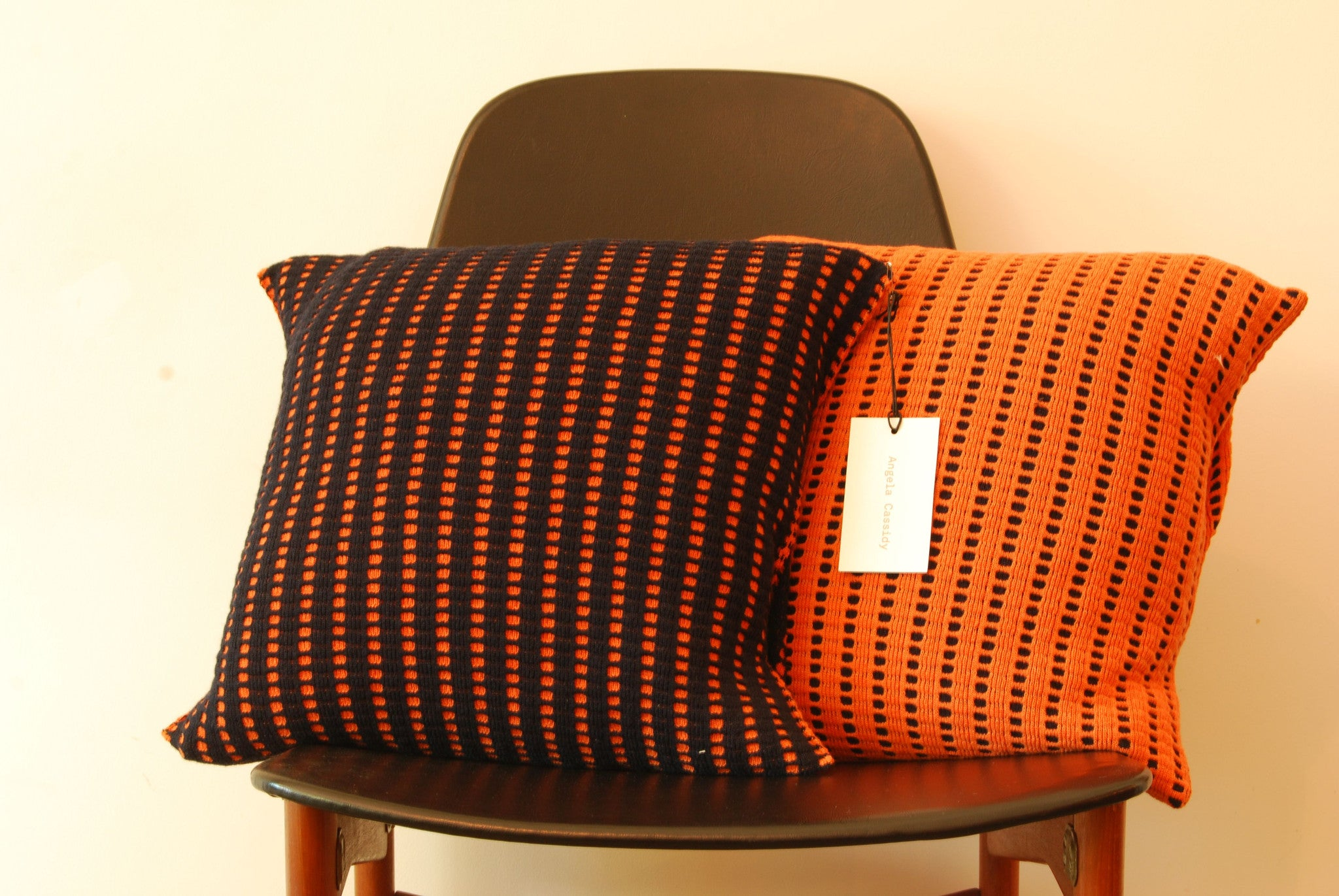 Chase & Sorensen Reversible cushions in lambs wool