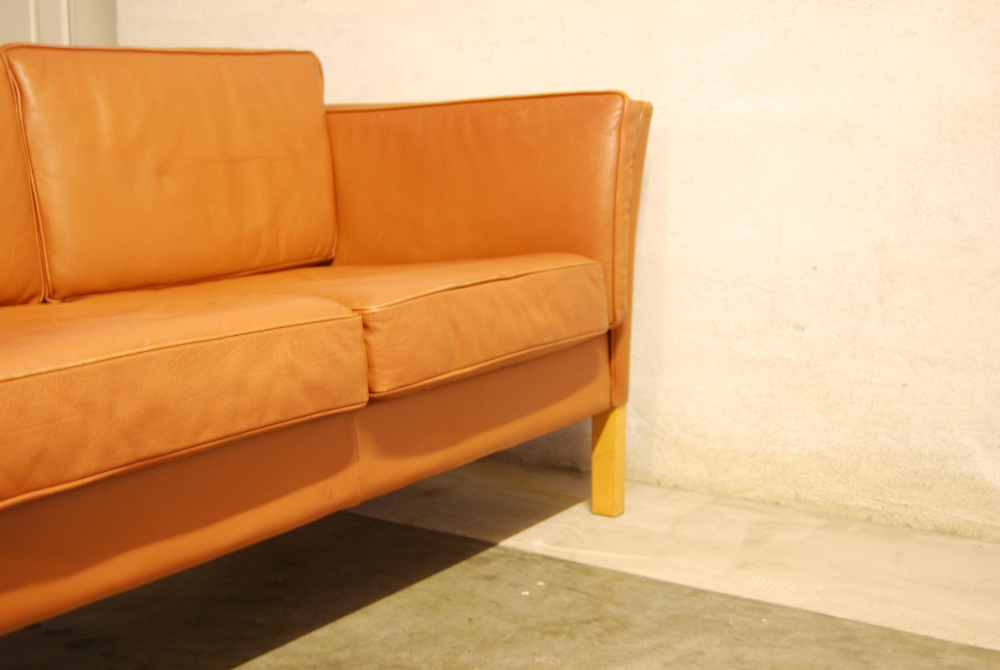 Tan two seater